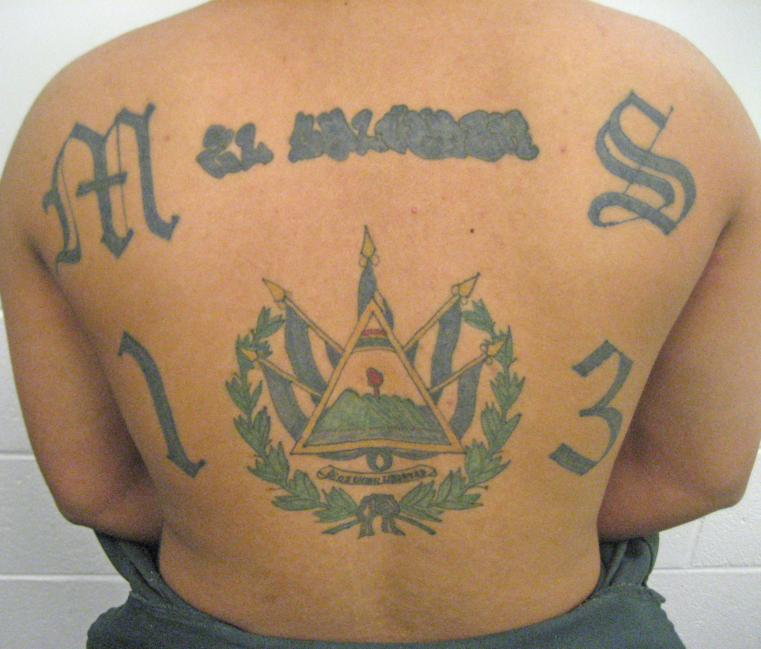 MS 13 tattoo